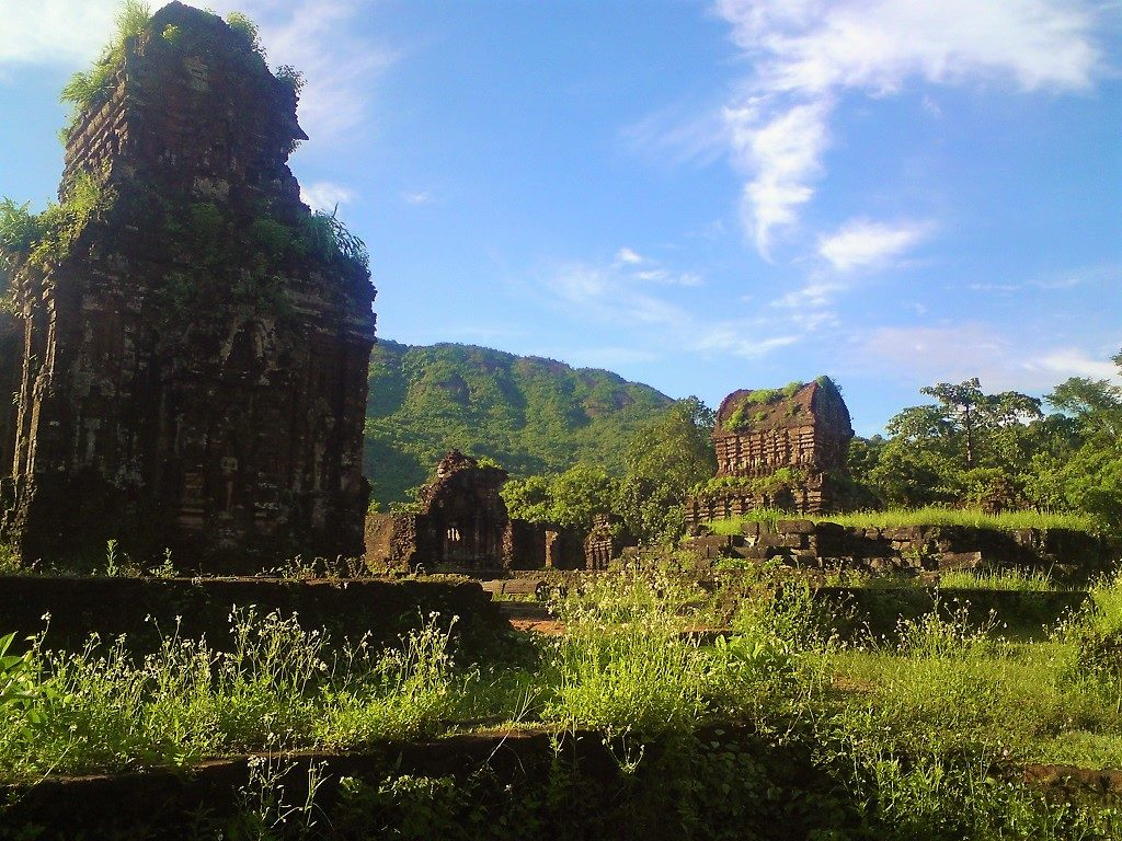 Ruins from the Kingdom of Champa at My Son, near Hoi An