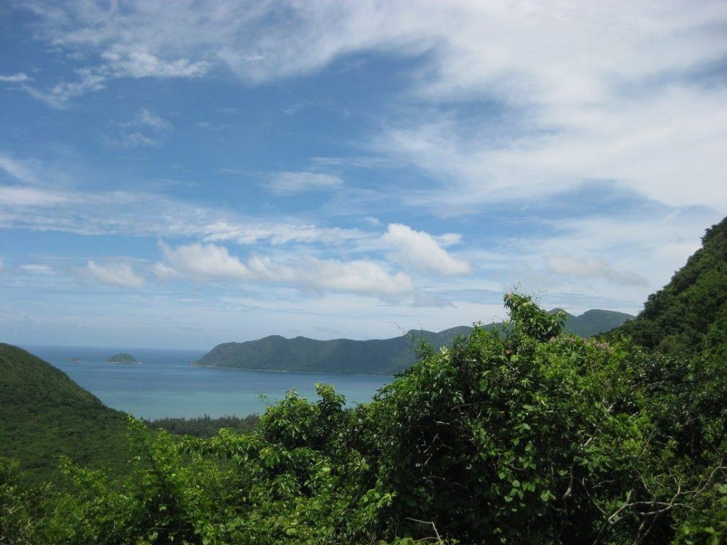 80% forested - the Con Dao Islands' remoteness have left them relatively untouched