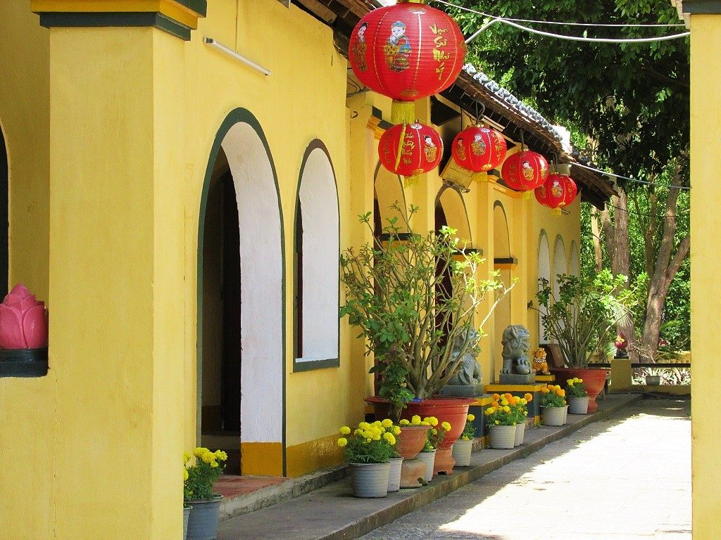 Anh Son (Phi Yen) temple, Con Son Island, Con Dao, Vietnam