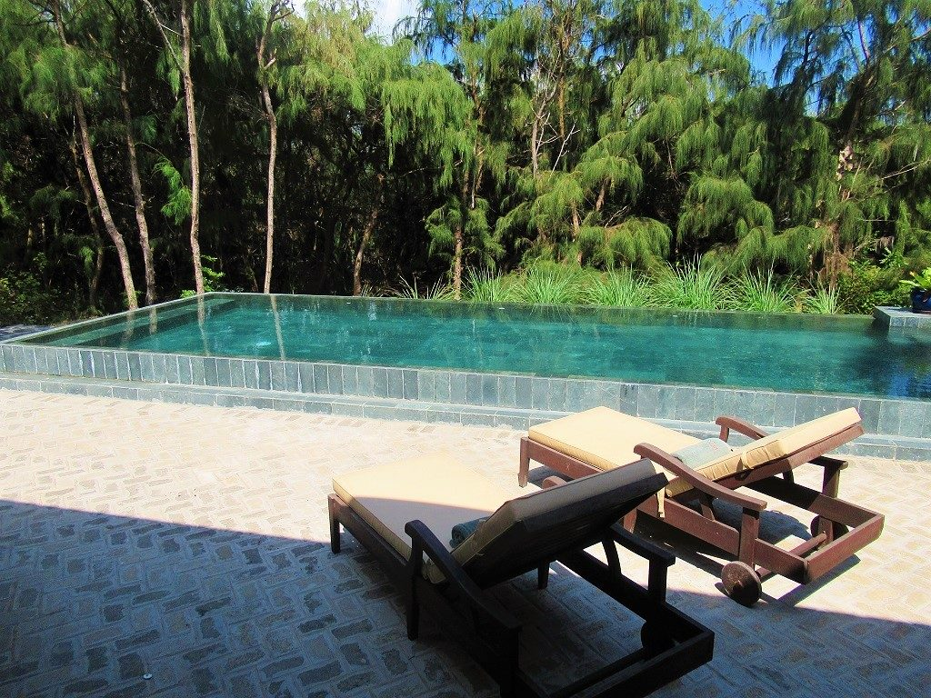 Private pool, Poulo Condor Boutique Resort & Spa, Con Dao, Vietnam