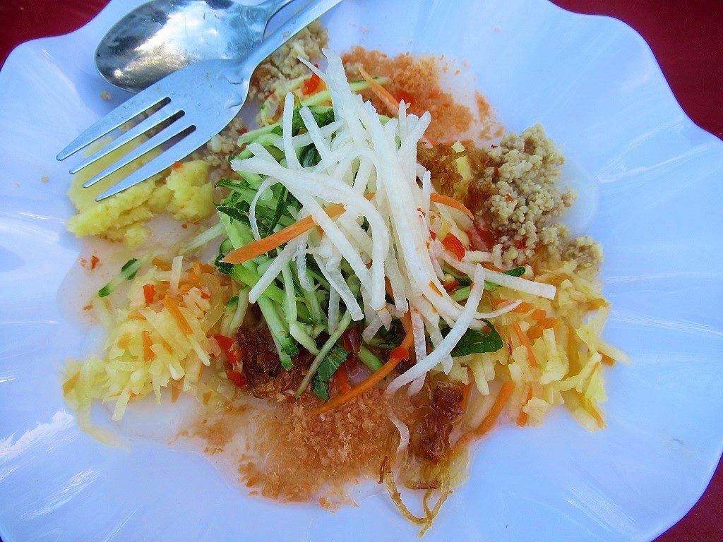 Street food snack, Con Son town, Con Dao Islands, Vietnam