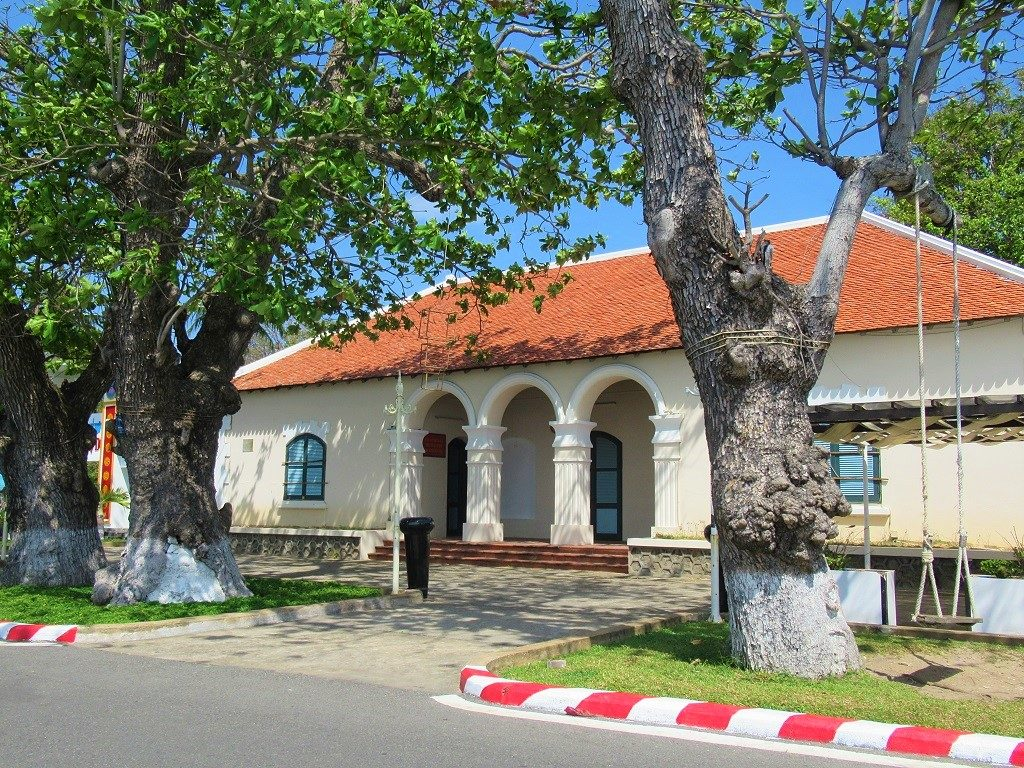 The old French customs house, Con Son Island, Con Dao, Vietnam