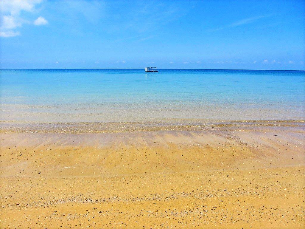 The calm, clear seas of the Con Dao Islands, Vietnam
