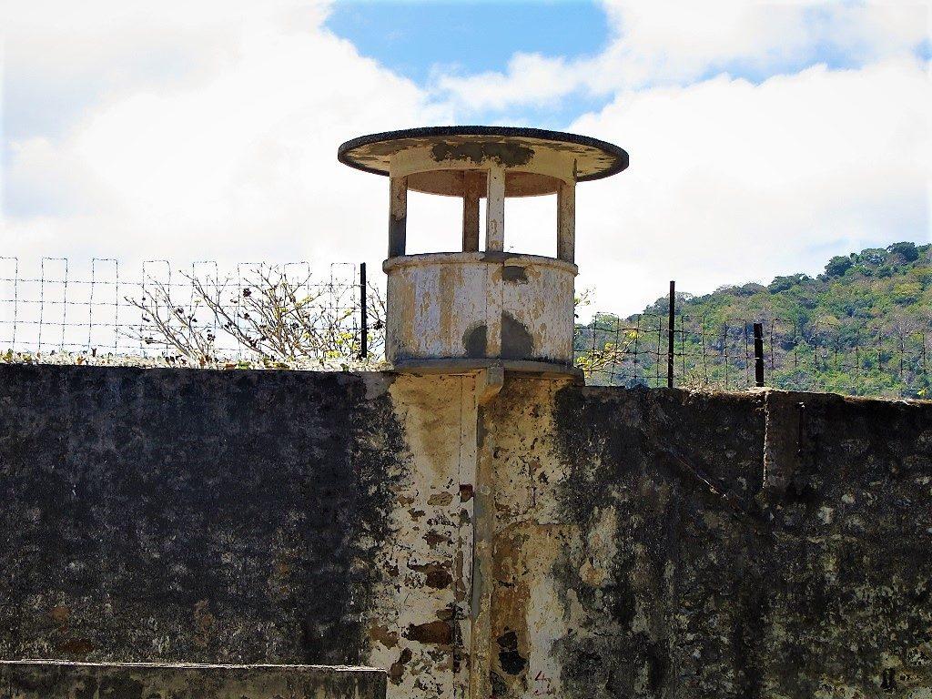 Prison wall, Con Son Island, Con Dao, Vietnam