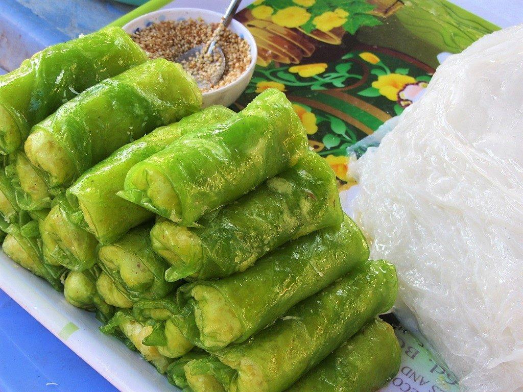 Street food at Con Dao Market, Con Son Island, Vietnam