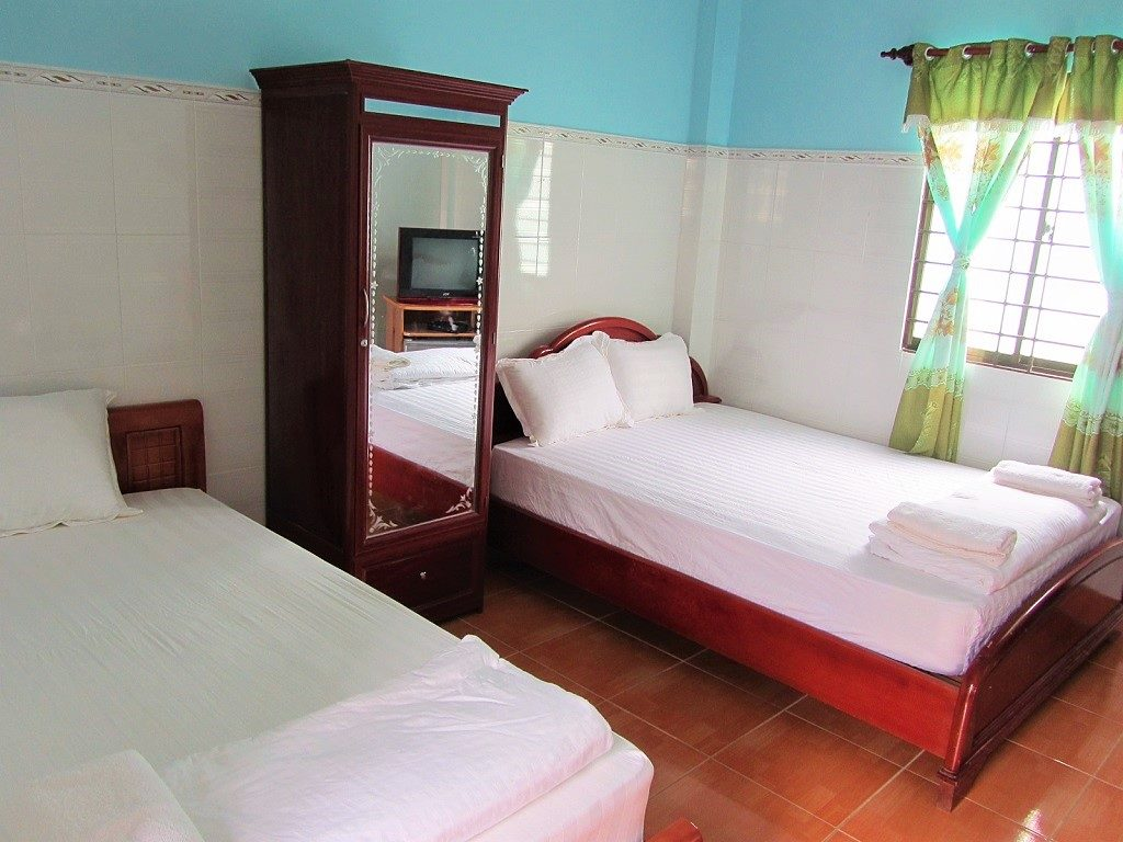 Mini hotels on Con Son Island, Con Dao, Vietnam