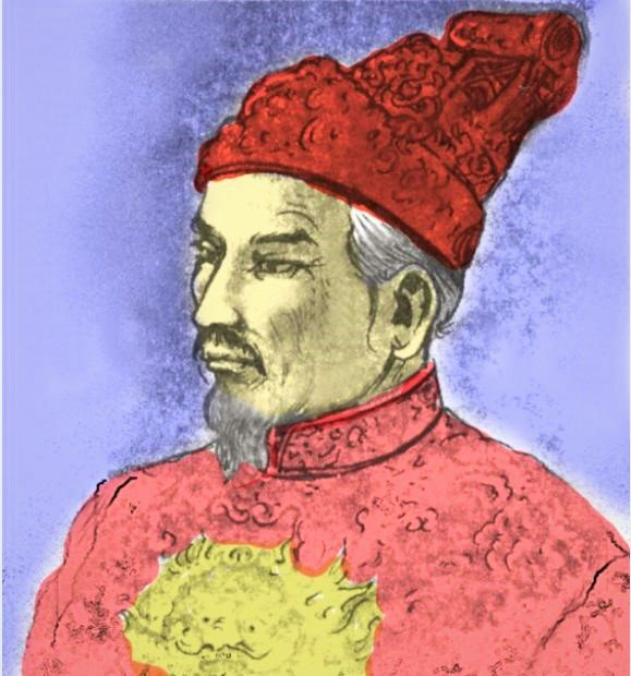 Emperor Gia Long, formerly Prince Nguyen Anh, Vietnam