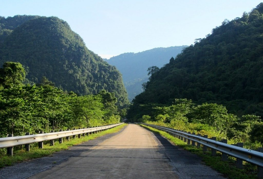 The Ho Chi Minh Road: 1800km, well-made, little traffic, great scenery