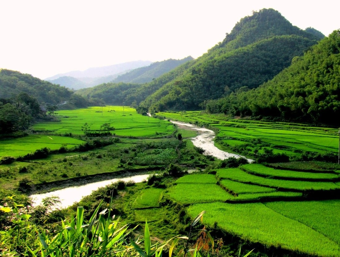 Rivers, rice fields and limestone mountains - Thanh Hóa Province