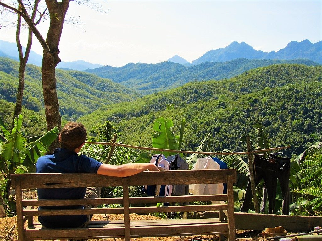 Taking in the scenery in Thanh Hoa Province, northern Vietnam