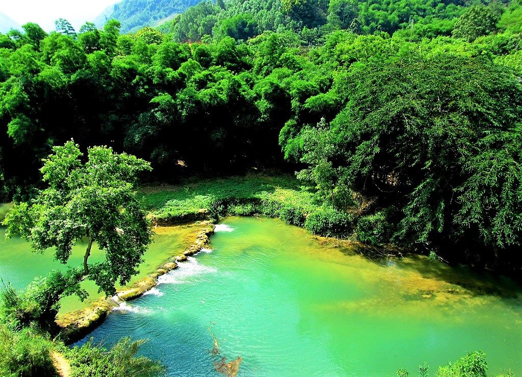 The Buoi River, Cuc Phuong National Park, Vietnam