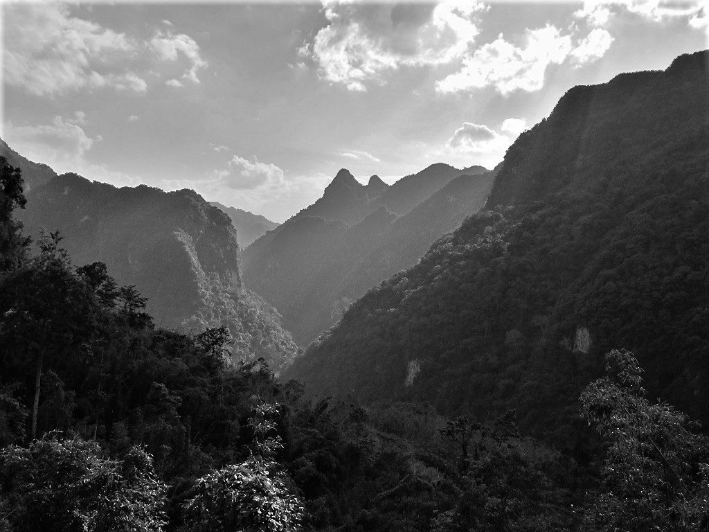 Limestone mountains & jungle, Thanh Hoa Province, northern Vietnam