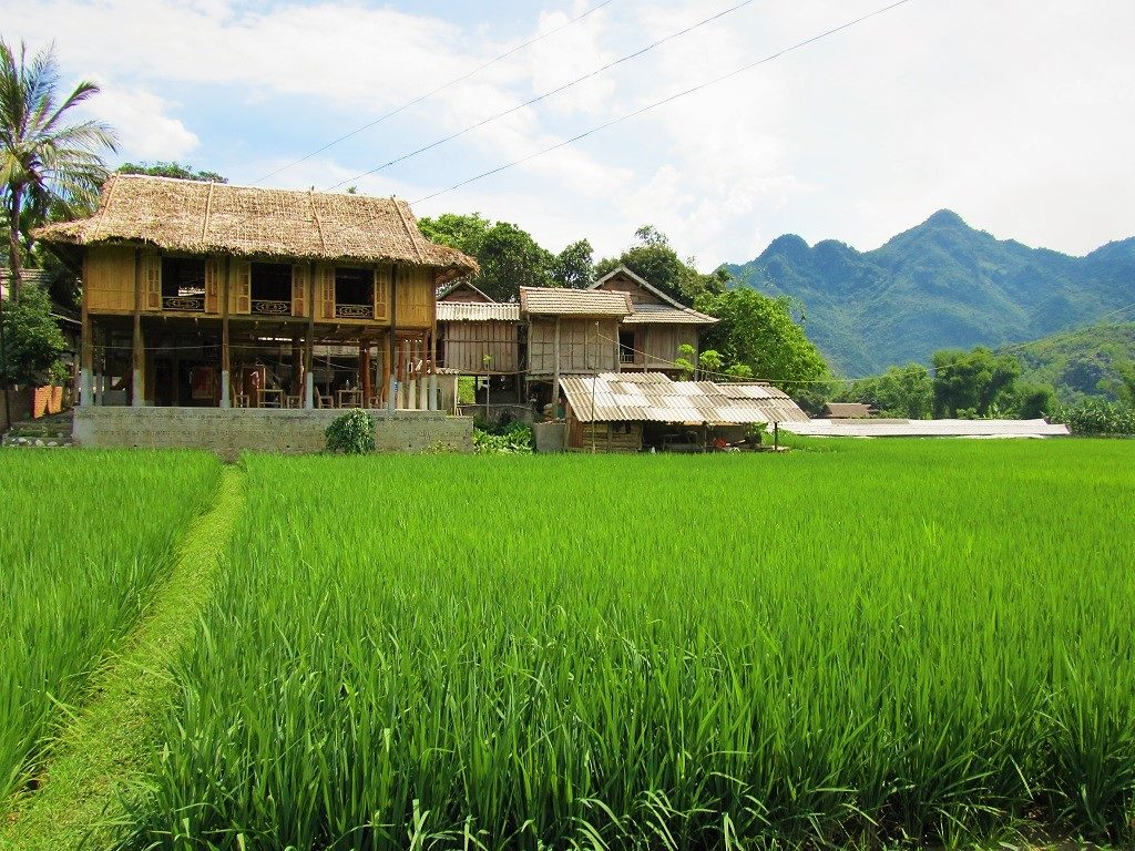Thai minority family homestay, Mai Chau, Vietnam