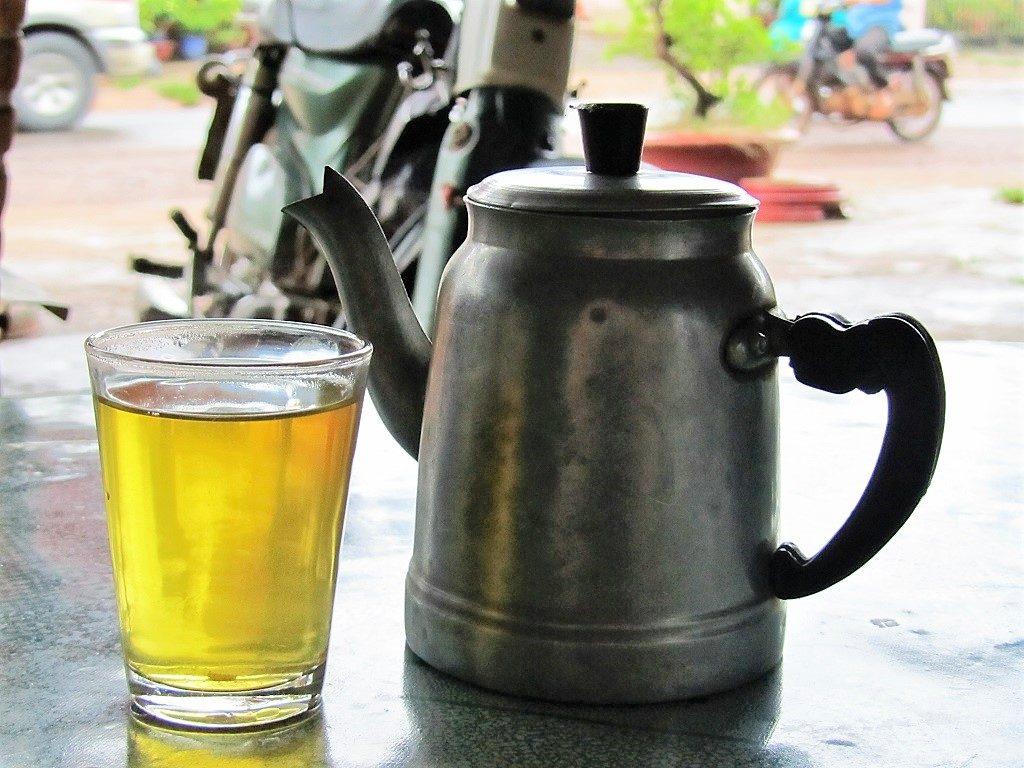 Fresh leaf green tea, Thanh Hoa Province, northern Vietnam