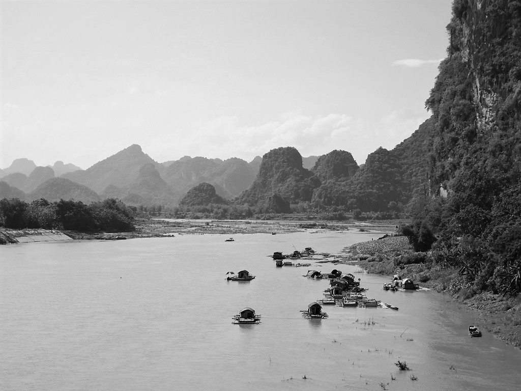 The Ma River, Thanh Hoa Province, northern Vietnam