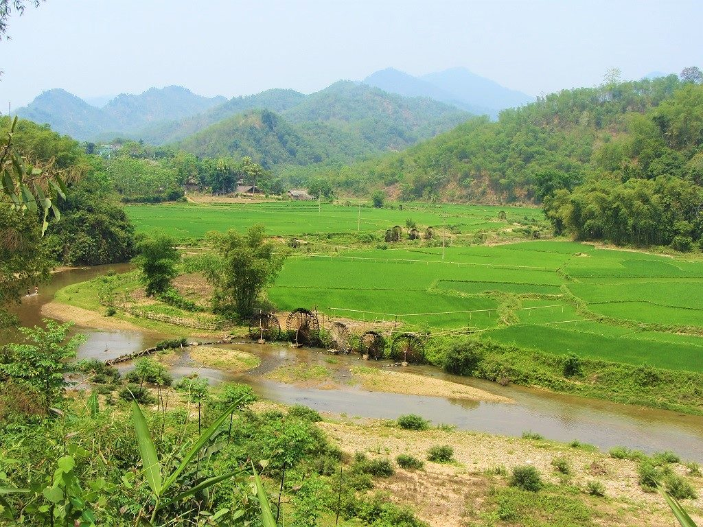 Bucolic scenery in Thanh Hoa Province, northern Vietnam
