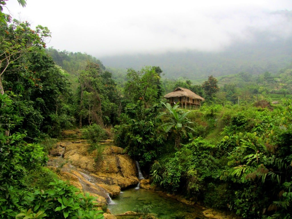 Homestay in Pù Luông Nature Reserve