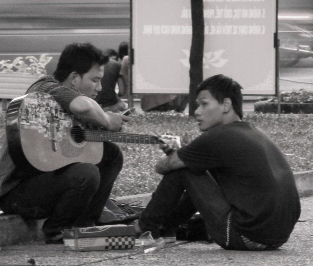 Guitars in the park
