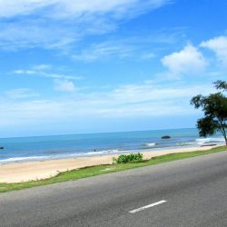 The Ocean Road between Hồ Cóc and Bình Châu Village