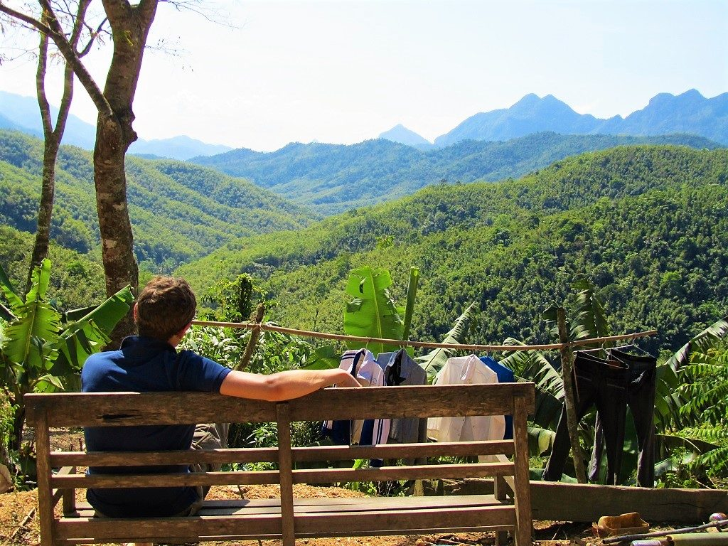 Relaxing in Pu Luong Nature Reserve, Vietnam