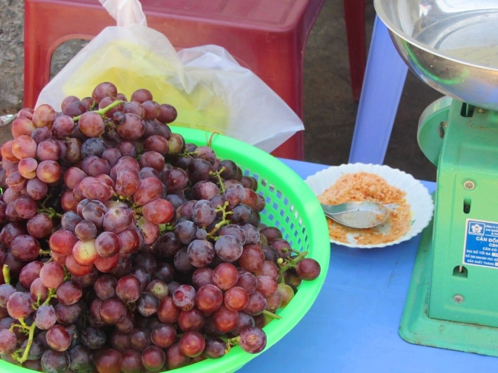 Fresh grapes, Nui Chua Coast Road, Ninh Thuan, Vietnam