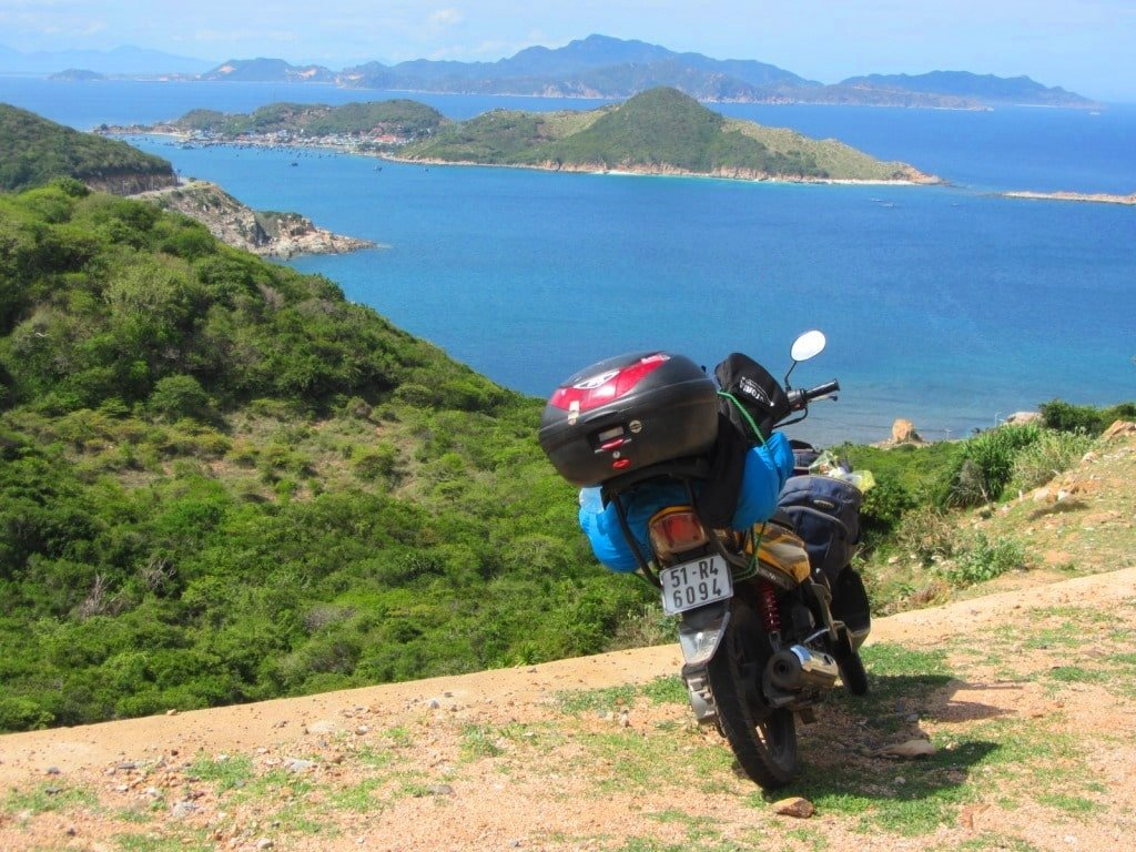 The Nui Chua Coast Road, Ninh Thuan, Vietnam