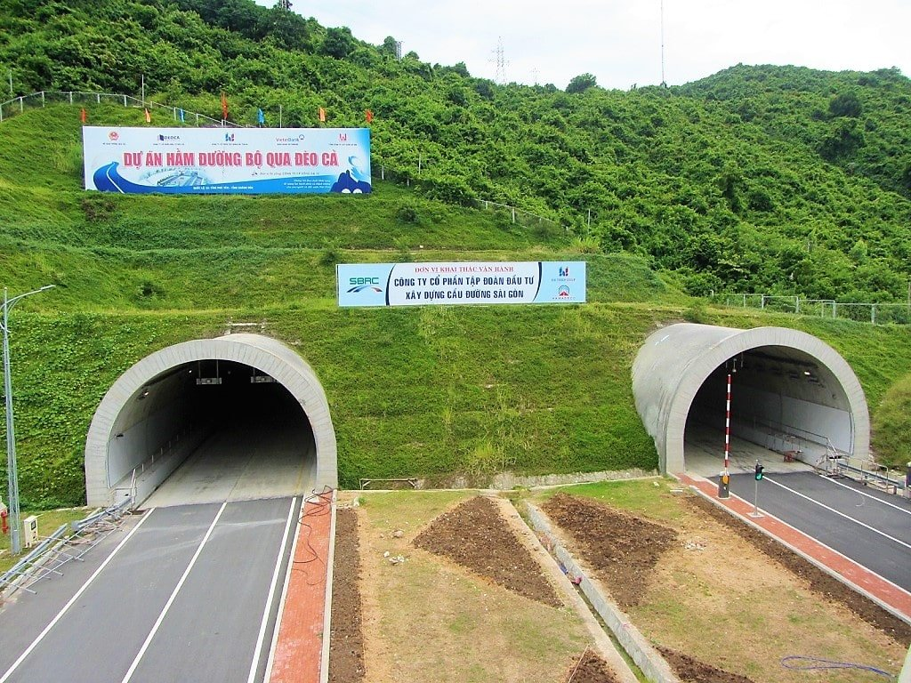 Dai Lanh Tunnel, Khanh Hoa Province, Vietnam