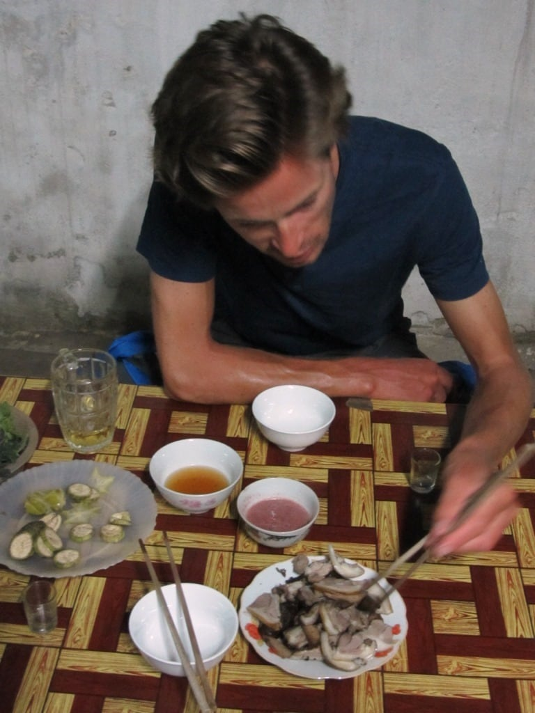 Dog meat is very popular in northern Vietnam...and it's delicious.