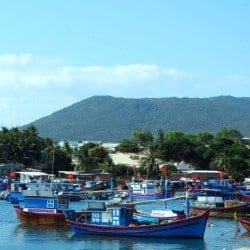 Đầm Môn fishing village