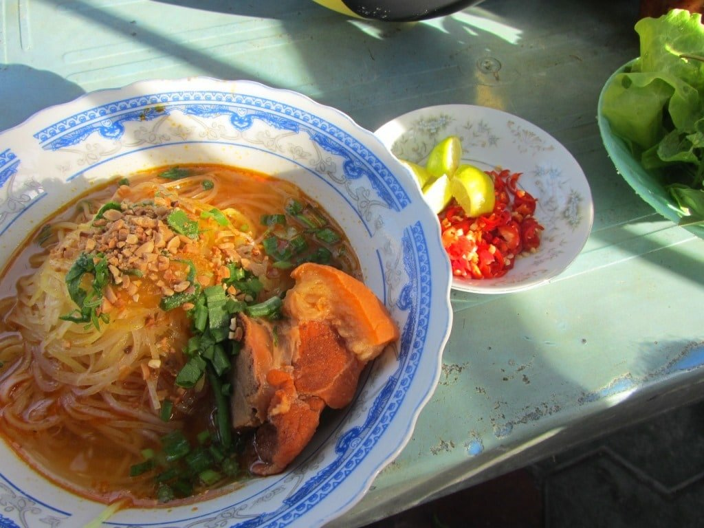 Street food in Phan Ri Cua, Vietnam