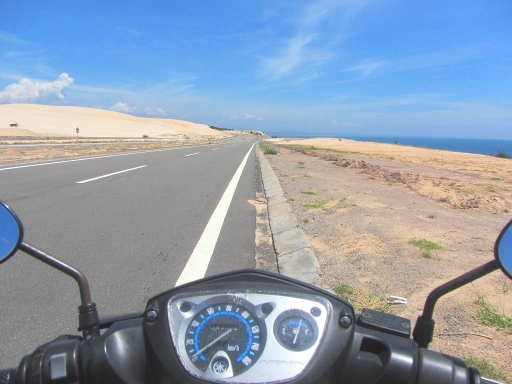 The White Sand Dune Highway, Mui Ne, Vietnam