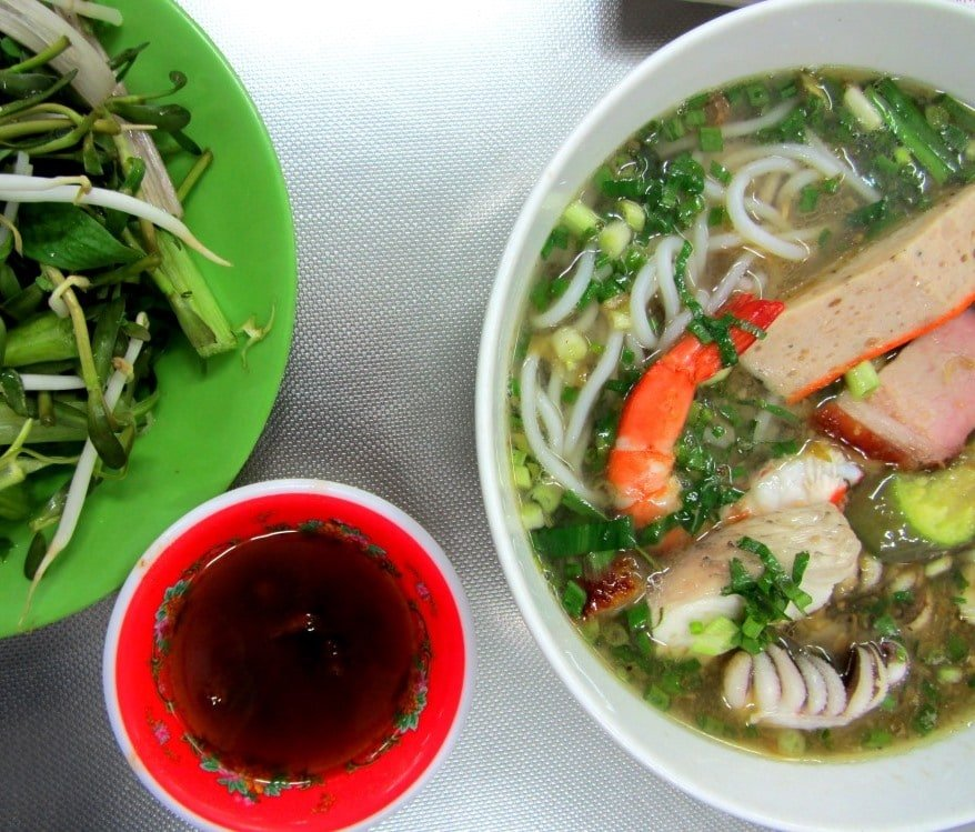 Bún mắm: a fishy soup from the Mekong