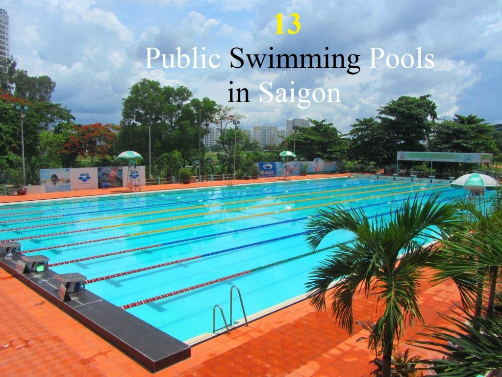 Phu Tho public swimming pool, Saigon, Vietnam