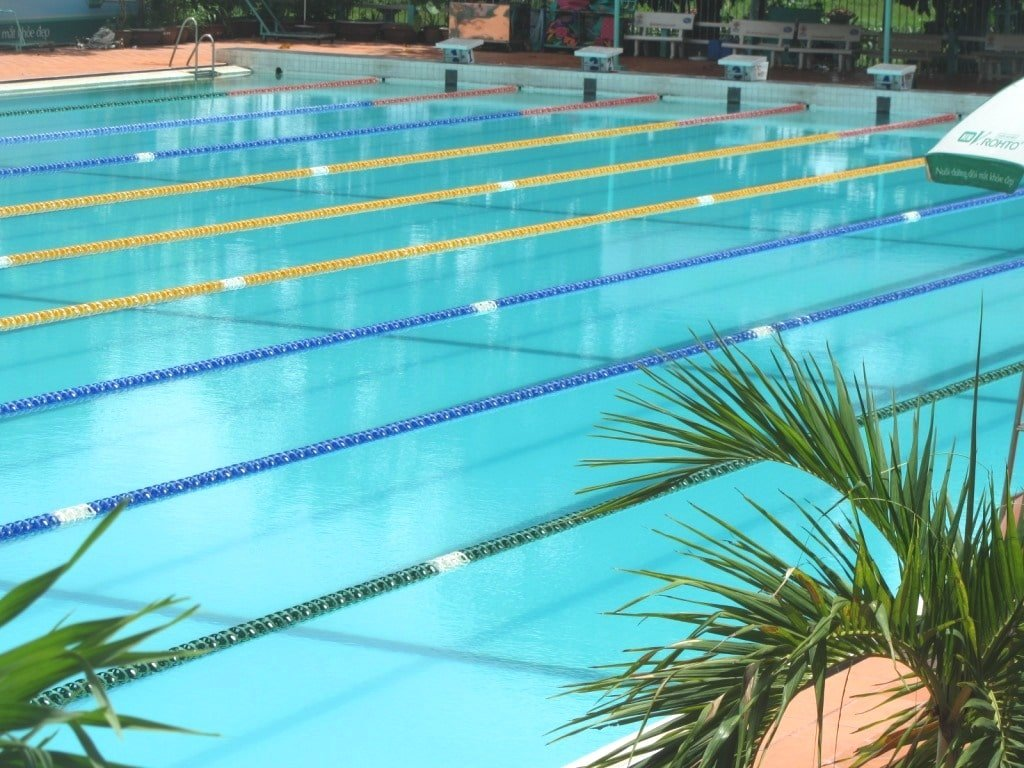 Phu Tho Swimming Pool, Saigon
