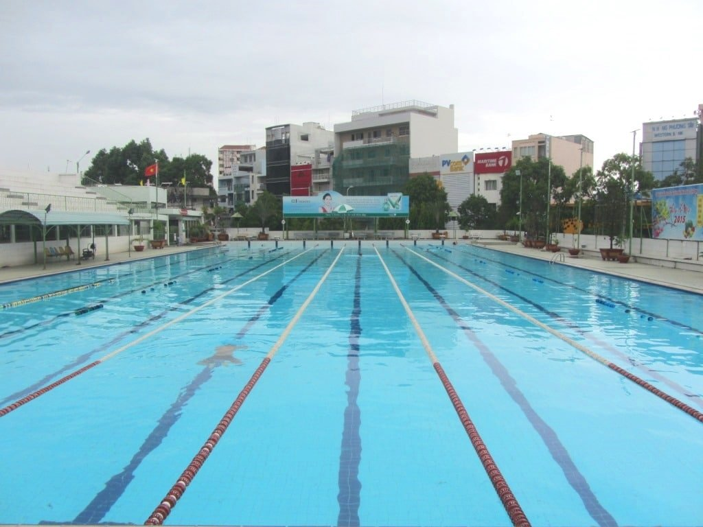 Van Don Swimming Pool, Saigon