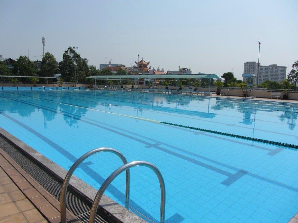 Rach Mieu Swimming Pool, Saigon