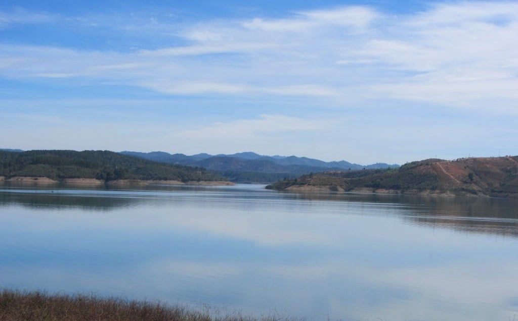Reservoir near Ninh Gia, 40km south of Dalat