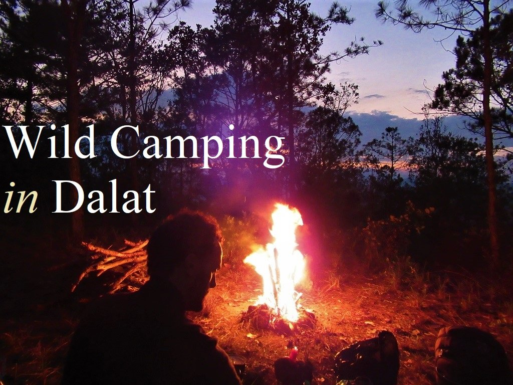 Wild camping in Dalat, Vietnam