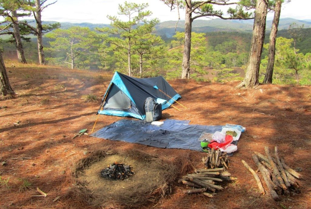 Camping: the best way to see Dalat