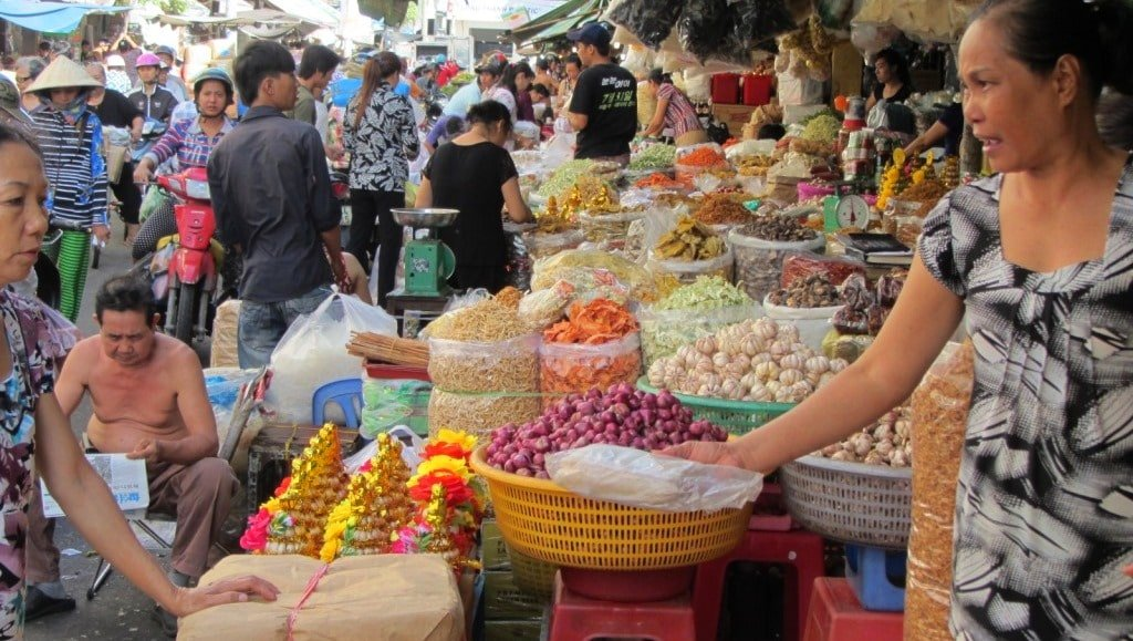 Thriving, bustling, vibrant: Saigon's markets