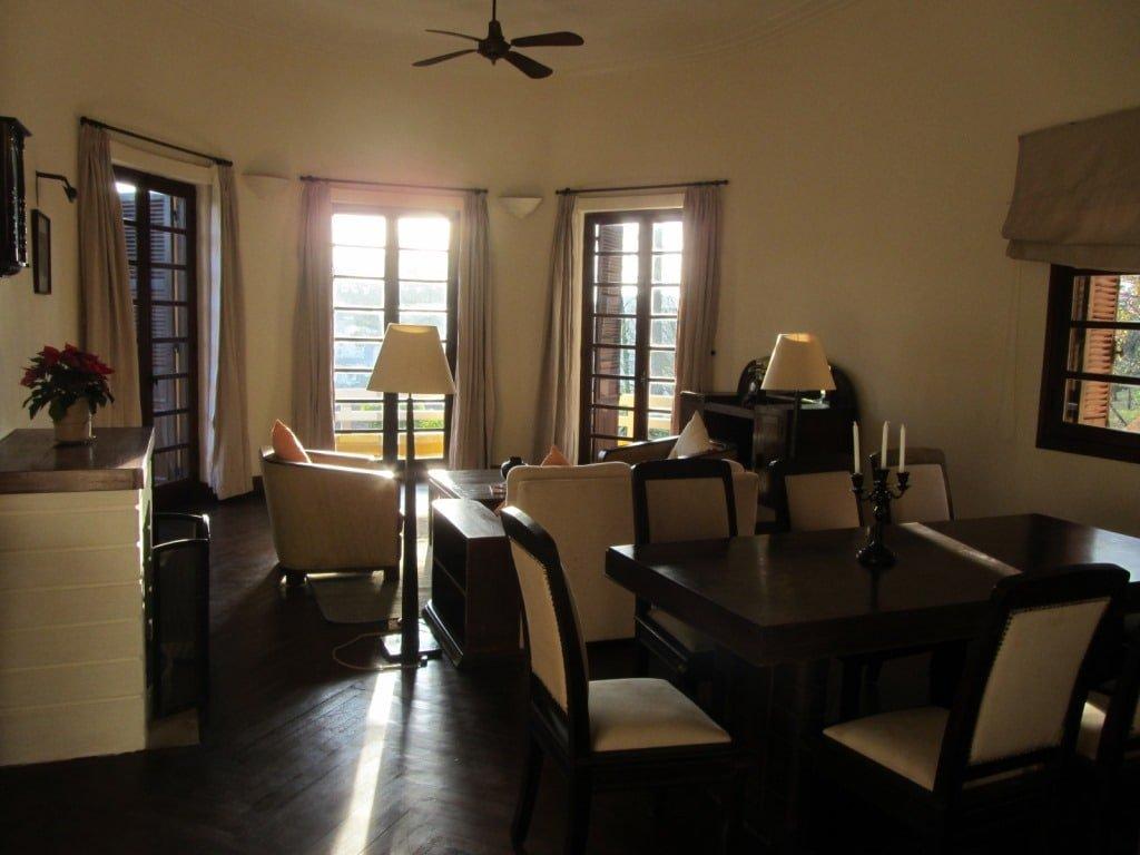 Cosy villa interior at Ana Mandara Resort
