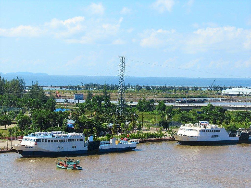 Ha Tien port, Mekong Delta, Vietnam