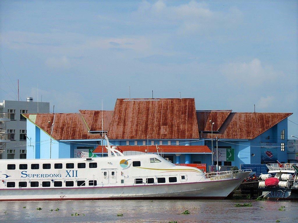 Rach Gia port, Mekong Delta, Vietnam