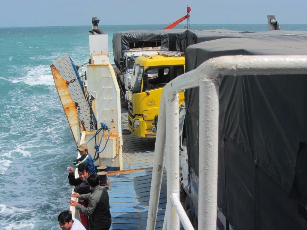 The car ferry to Phu Quoc Island, Vietnam