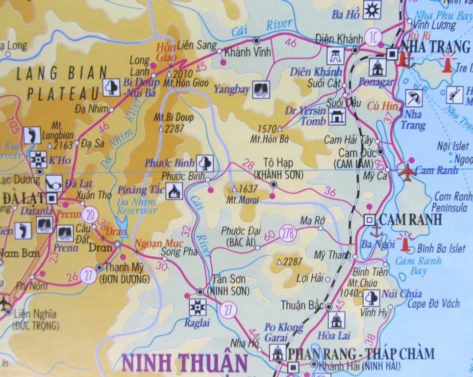 Which Road Map to Use on a Motorbike Trip Vietnam Coracle – Travel Map Of Vietnam