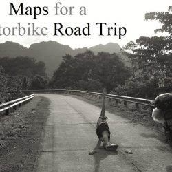 Which maps to use for a motorbike road trip in Vietnam