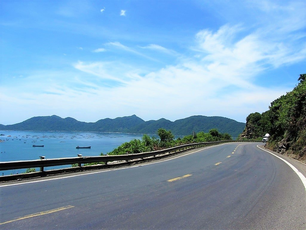Vung Ro Bay from the Ca Pass, Vietnam