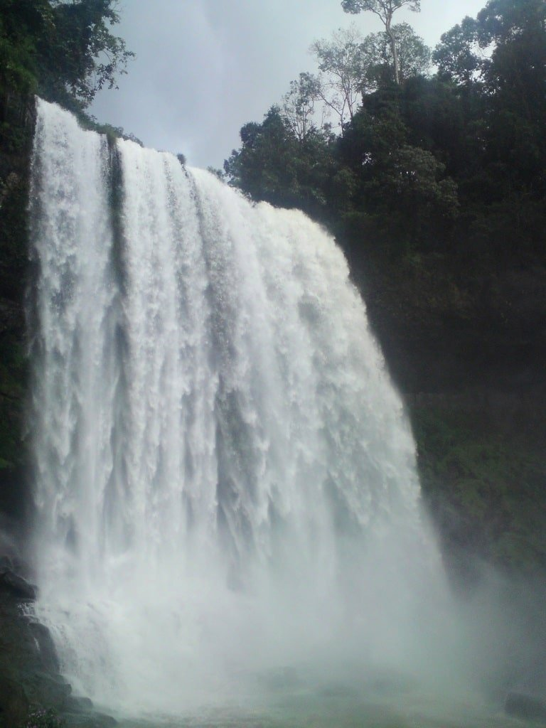 Towering & majestic, Dambri waterfall