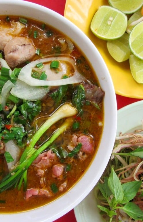 Bún bò Huế is Friday's dish of the day