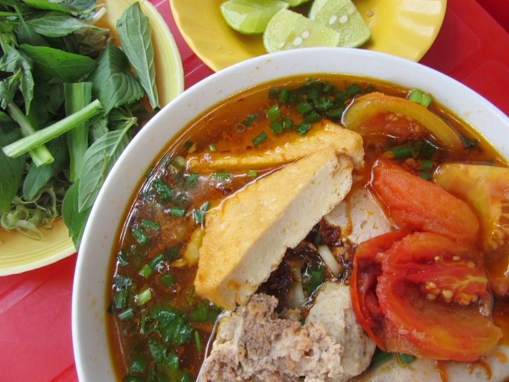 Sunday is bún riêu